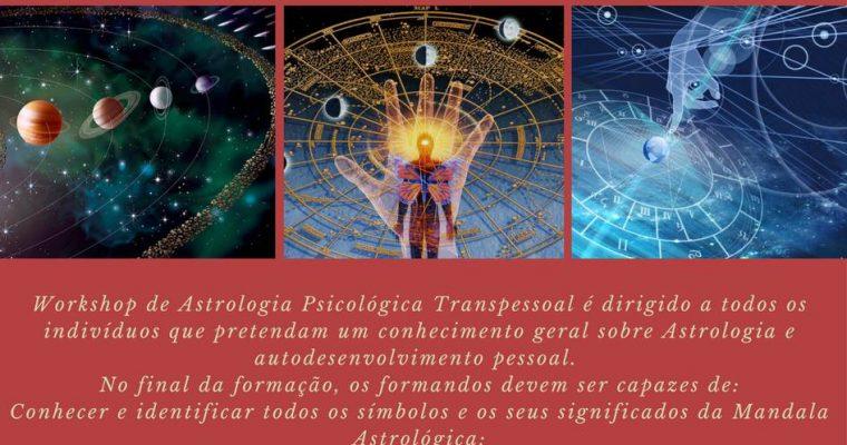 Workshop de Astrologia Psicológica Transpessoal – PORTIMÃO – 26 E 27 MAIO