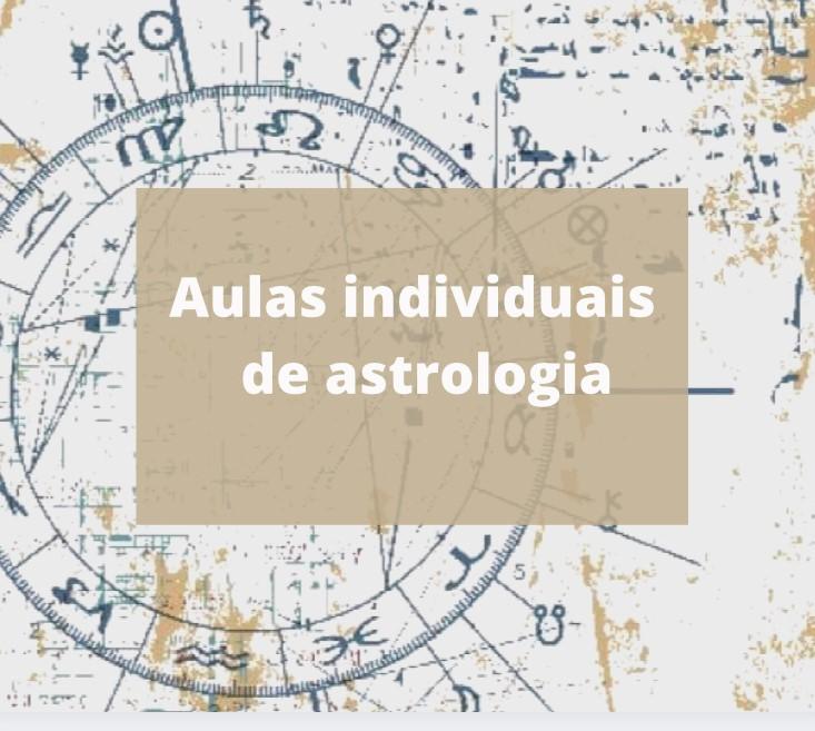 Aulas individuais de astrologia