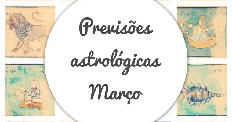 Previsões dos signos do mês de março 2021