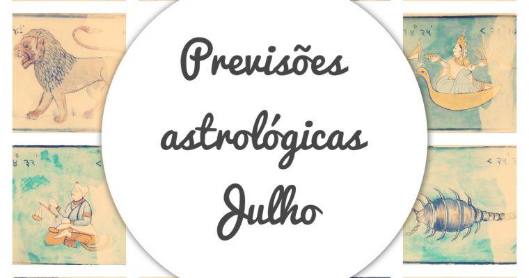 Previsões astrológicas – mês de julho