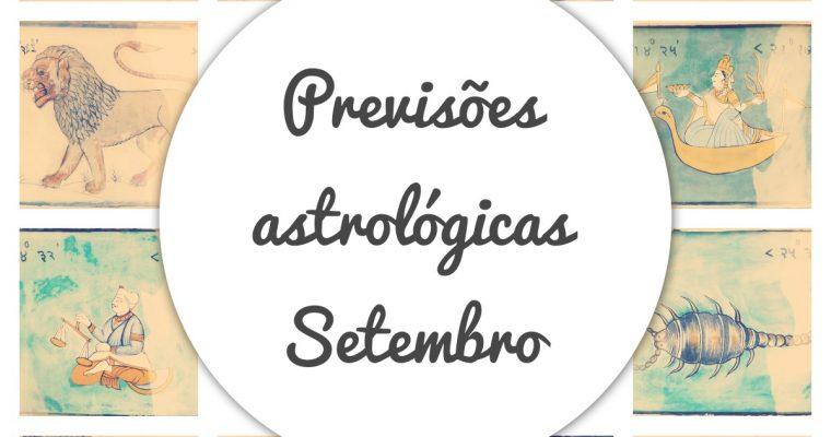 Previsões dos signos do mês de setembro 2021